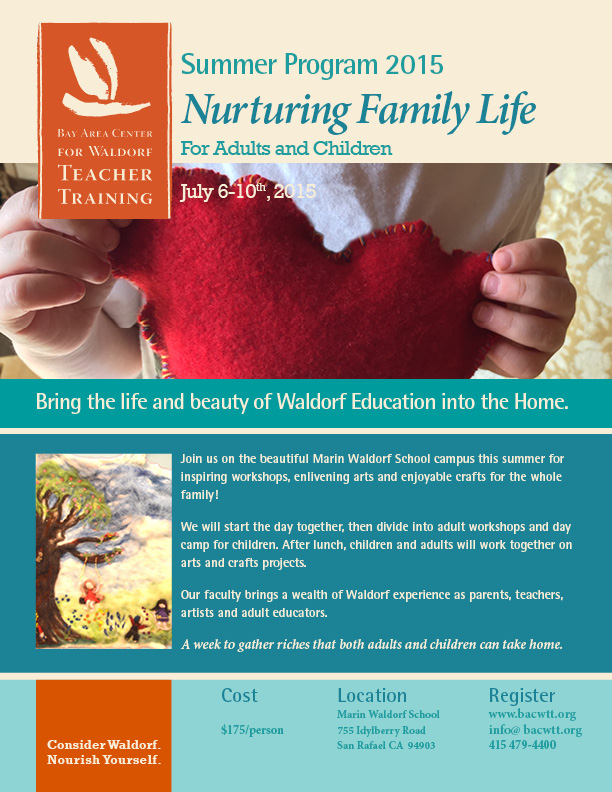 Family Life Summer Program flyer