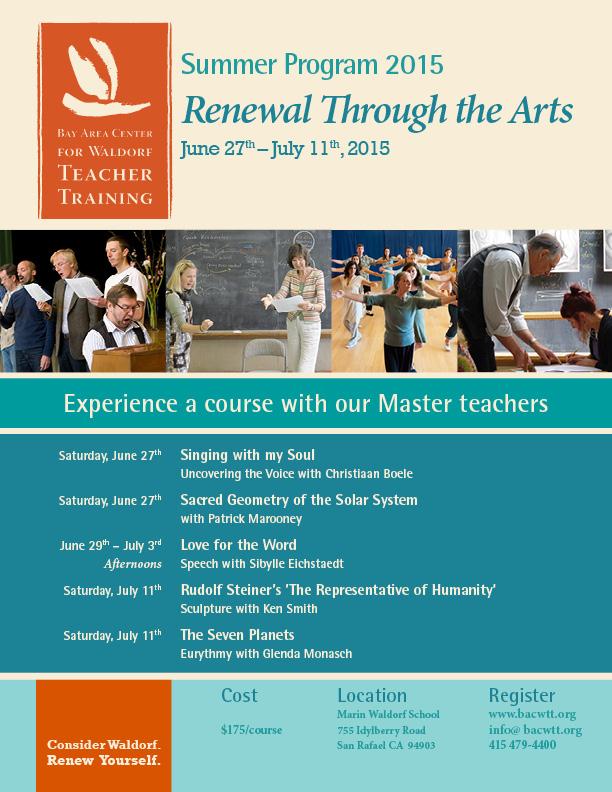 Master Classes Summer Program flyer