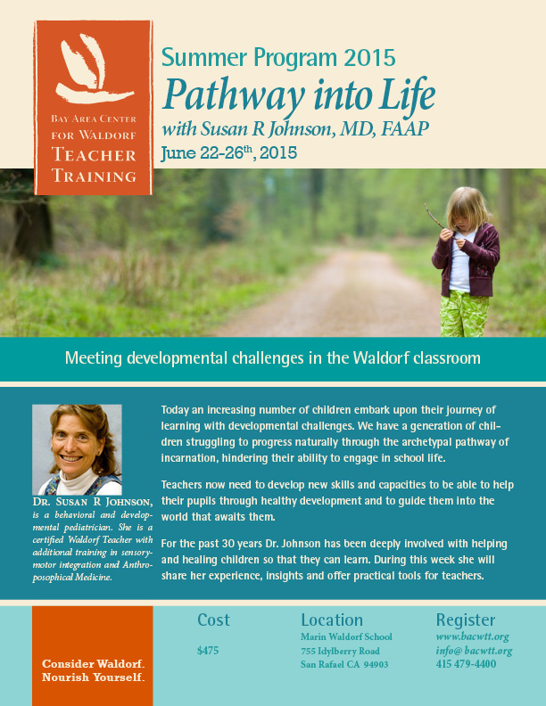 Pathway into Life flyer